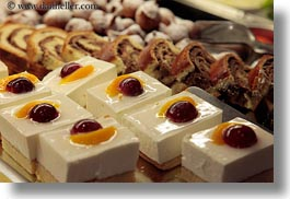 croatia, custard, desserts, europe, foods, horizontal, photograph