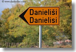croatia, danielisi, europe, horizontal, signs, photograph