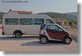 cars, croatia, emotions, europe, horizontal, humor, smart, vans, photograph