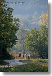 croatia, europe, hikers, hiking, hills, landscapes, motovun, nature, people, plants, scenics, trees, vertical, photograph