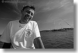 black and white, cooks, crew, croatia, europe, horizontal, nostalgija, photograph
