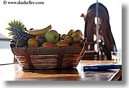 apples, bananas, baskets, croatia, europe, foods, fruits, horizontal, nostalgija, oranges, pineapple, photograph