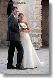 brides, couples, croatia, europe, events, groom, men, people, porec, vertical, wedding, womens, photograph