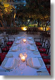 arbiana hotel, croatia, dining, europe, outdoors, rab, tables, vertical, photograph