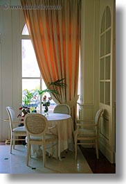 arbiana hotel, chairs, croatia, draps, europe, rab, tables, vertical, photograph