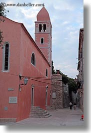 buildings, churches, croatia, europe, rab, religious, st john, structures, vertical, photograph