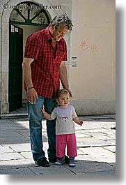 croatia, europe, men, split, toddlers, vertical, photograph