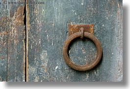 croatia, doors, europe, handle, horizontal, irons, miscellaneous, trogir, photograph