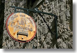 croatia, europe, horizontal, miscellaneous, signs, trogir, vinoteka, wineries, photograph