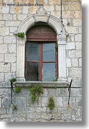 croatia, europe, trogir, vertical, windows, photograph