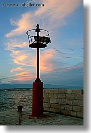 beacon, croatia, europe, powered, solar, ugljan, vertical, photograph