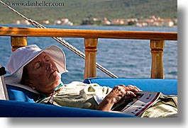 betsy, charlie betsy, croatia, europe, horizontal, people, sleeping, womens, photograph