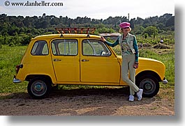cars, croatia, europe, horizontal, janna, janna curt, people, yellow, photograph