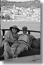 black and white, carole, chinman, couples, croatia, europe, men, people, richard, richard carole, vertical, womens, photograph