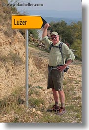 croatia, europe, gary, gary lolly, luzer, men, people, senior citizen, signs, vertical, wt group istria, photograph