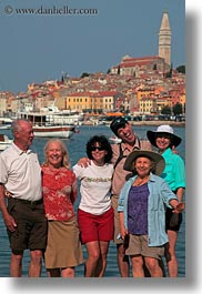 colorful, colors, croatia, emotions, europe, groups, happy, rovinj, smiles, towns, vertical, wt group istria, photograph