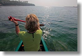 croatia, europe, helene patrick, helenes, horizontal, kayaking, people, womens, wt group istria, photograph