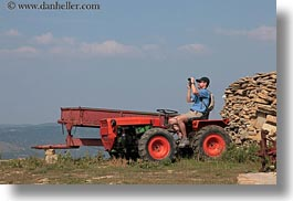 croatia, europe, helene patrick, horizontal, patricks, tractor, wt group istria, photograph