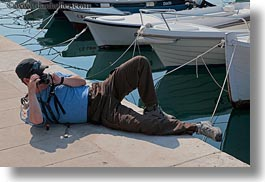 boats, cameras, croatia, europe, helene patrick, horizontal, patricks, reclining, wt group istria, photograph