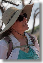 big, clothes, croatia, emotions, europe, happy, hats, judy, people, senior citizen, smiles, straw hat, sunglasses, vertical, wt group istria, photograph