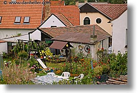 bohemia, czech republic, europe, gardens, horizontal, houses, photograph