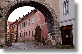 arches, cesky krumlov, czech republic, europe, horizontal, krumlov, photograph