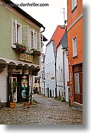 cesky krumlov, czech republic, europe, gran, shops, vertical, photograph