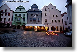 cesky krumlov, czech republic, europe, horizontal, krumlov, slow exposure, squares, photograph
