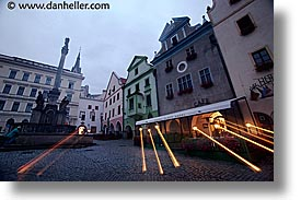 cesky krumlov, czech republic, europe, horizontal, krumlov, long exposure, squares, zoom, photograph