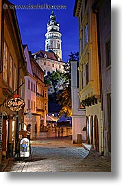 cesky krumlov, czech republic, europe, krumlov, long exposure, towers, vertical, photograph