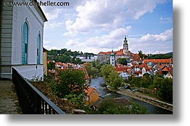 cesky krumlov, czech republic, europe, horizontal, krumlov, rivers, towns, photograph