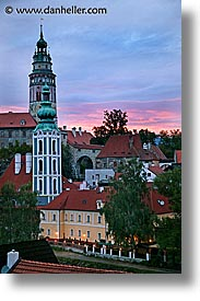 cesky krumlov, czech republic, europe, krumlov, slow exposure, towns, vertical, photograph