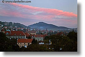cesky krumlov, czech republic, europe, hills, horizontal, towns, photograph