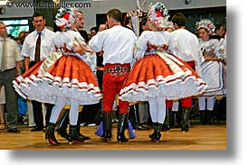 czech, czech republic, dance, dancing, europe, folk dance, folk dancing, gowns, horizontal, photograph