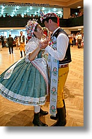 czech republic, dance, dancers, dancing, europe, folk dance, folk dancing, vertical, photograph