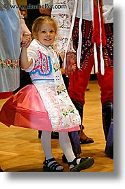 czech republic, dance, dancing, europe, folk dance, folk dancing, girls, little, vertical, photograph