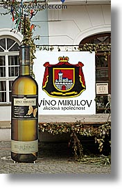czech republic, europe, mikulov, signs, vertical, wines, photograph