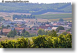 czech republic, europe, horizontal, moravia, towns, vinyards, photograph