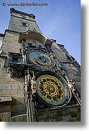 astro clock, astronomical, buildings, clocks, czech republic, europe, prague, vertical, photograph