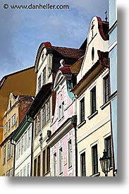 buildings, czech republic, europe, facades, houses, prague, vertical, photograph