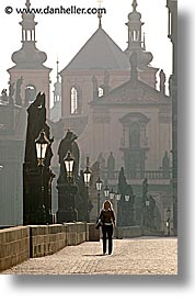 bridge, charles, charles bridge, czech republic, europe, ped, prague, vertical, photograph