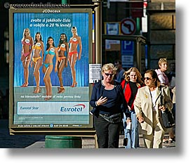 czech republic, europe, eurotel, horizontal, people, prague, womens, photograph