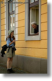 czech republic, europe, old, shelley, slavonice, vertical, womens, photograph