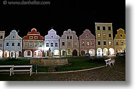 czech republic, europe, horizontal, long exposure, nite, telc, photograph