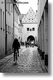 bikers, czech republic, europe, trebon, vertical, photograph