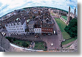 aerials, cambridge, england, english, europe, fisheye, horizontal, united kingdom, photograph