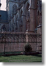 cambridge, churches, england, english, europe, fences, johns, streets, united kingdom, vertical, photograph