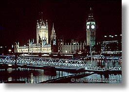 bens, big, big ben, cities, england, english, europe, horizontal, london, nite, united kingdom, views, photograph