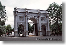 arches, cities, england, english, europe, horizontal, hyde park, london, marble, united kingdom, photograph