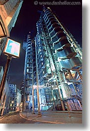cities, england, english, europe, lloyds, london, nite, united kingdom, vertical, photograph